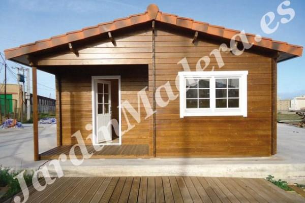 Cabañas de madera en JardinMadera.es 4240
