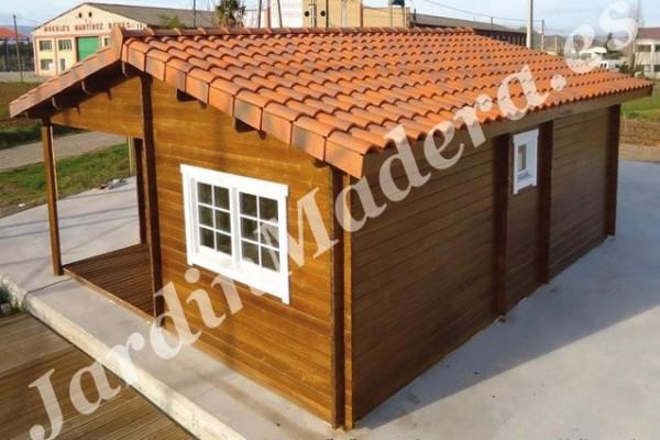 Cabañas de madera en JardinMadera.es 4241
