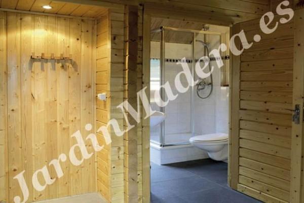 Cabañas de madera en JardinMadera.es 4245