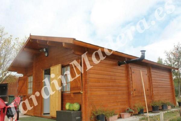 Cabañas de madera en JardinMadera.es 4256