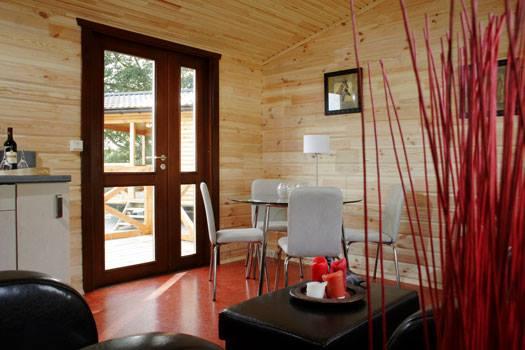 Cabañas de madera en La Casa Prefabricada 4319