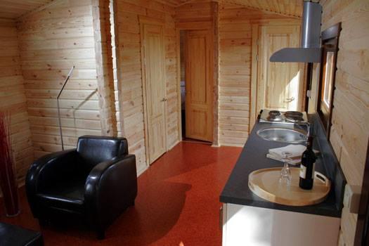 Cabañas de madera en La Casa Prefabricada 4320