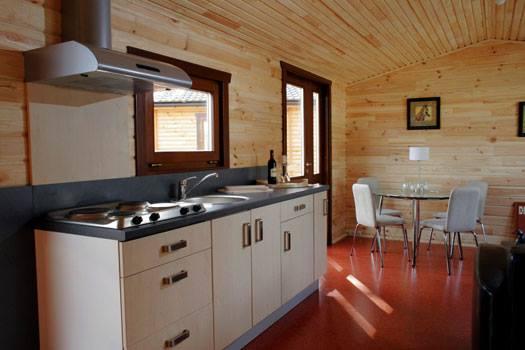 Cabañas de madera en La Casa Prefabricada 4318