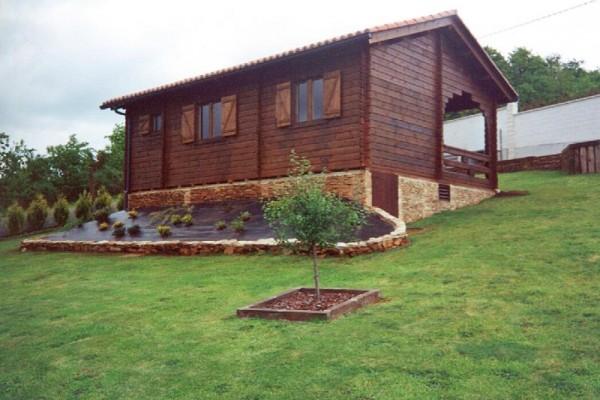 Cabañas de madera en Las cabañas 520