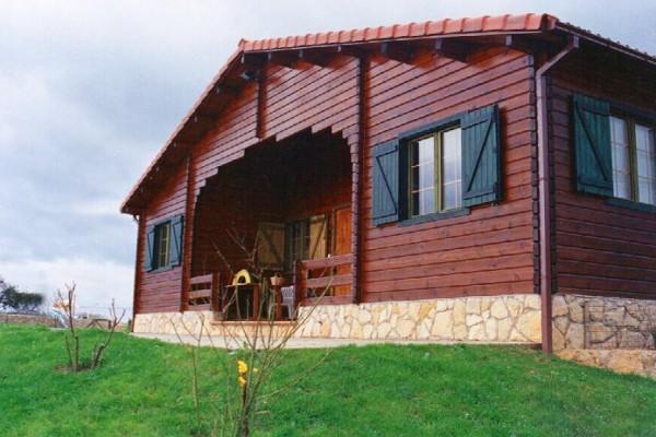 Cabañas de madera en Las cabañas 521
