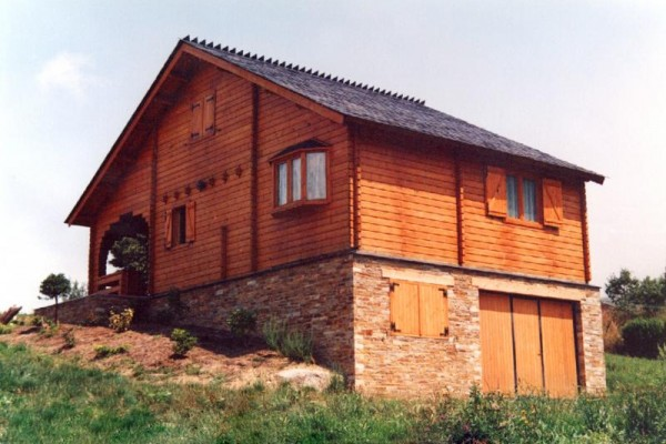 Cabañas de madera en Las cabañas 523