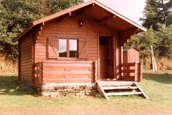 Cabañas de madera en Las cabañas 524