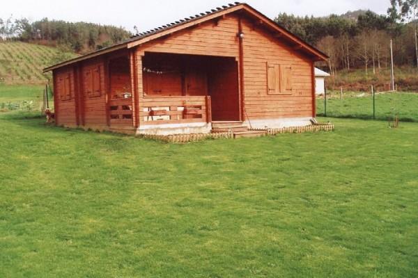 Cabañas de madera en Las cabañas 525