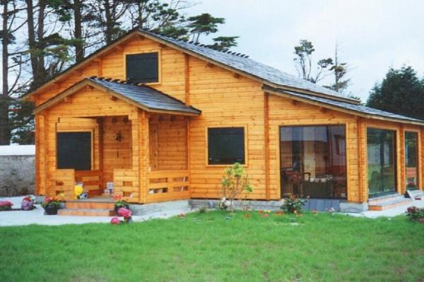Cabañas de madera en Las cabañas 526
