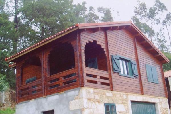 Cabañas de madera en Las cabañas 527