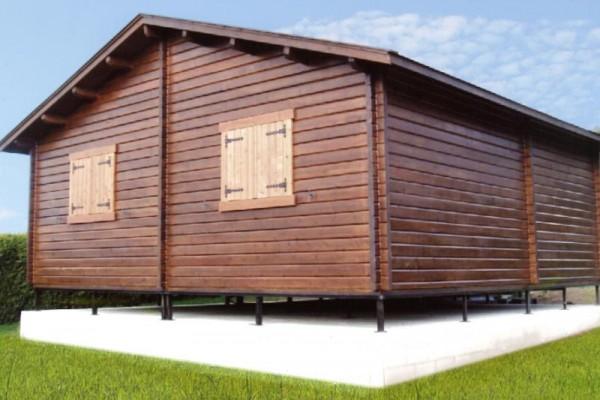 Cabañas de madera en Las cabañas 528