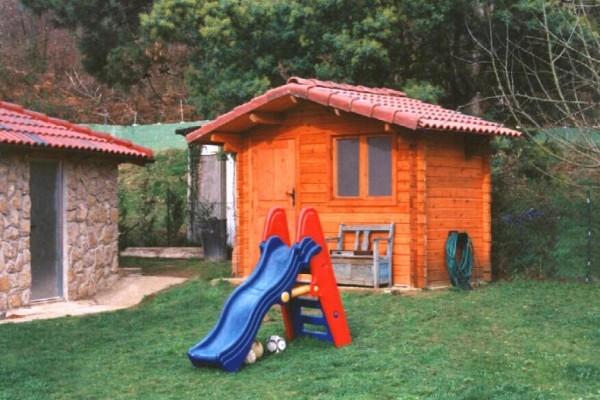 Cabañas de madera en Las cabañas 529