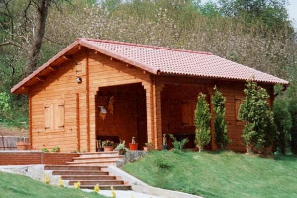 Cabañas de madera en Las cabañas 512