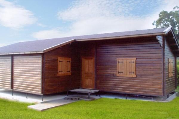 Cabañas de madera en Las cabañas 531