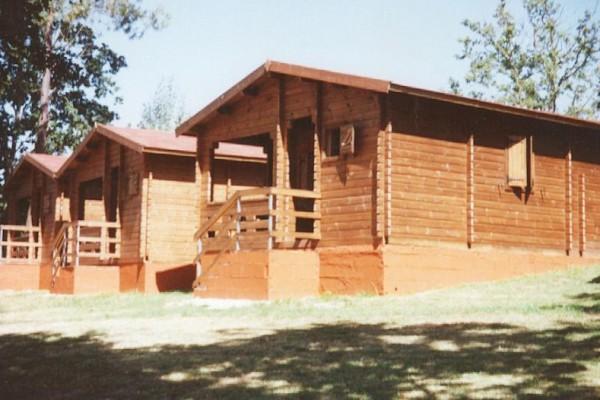 Cabañas de madera en Las cabañas 533