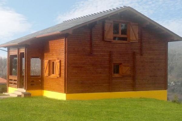 Cabañas de madera en Las cabañas 534