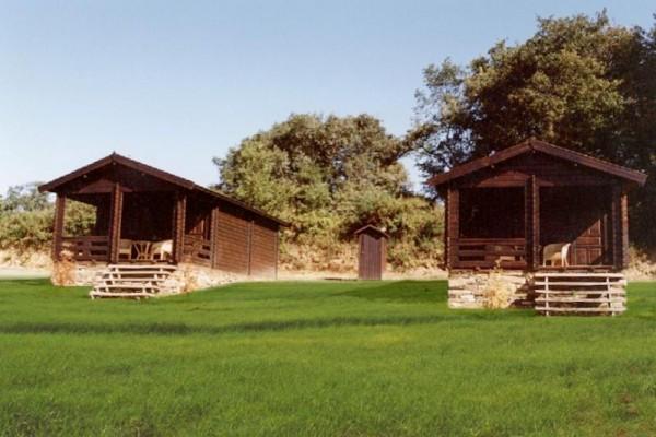 Cabañas de madera en Las cabañas 535