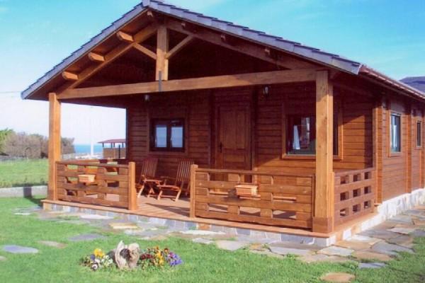 Cabañas de madera en Las cabañas 513
