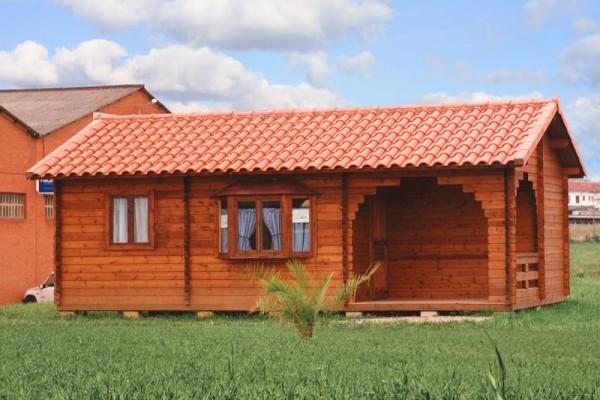 Cabañas de madera en Las cabañas 515