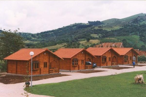Cabañas de madera en Las cabañas 516