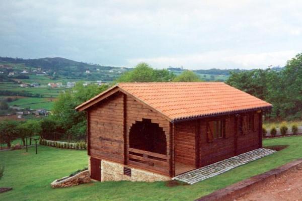 Cabañas de madera en Las cabañas 517