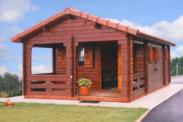 Cabañas de madera en Las cabañas 519