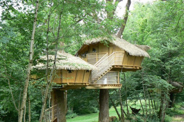 Caba as de madera en madera siglo xxi casas naturales for Cabanas para jardin