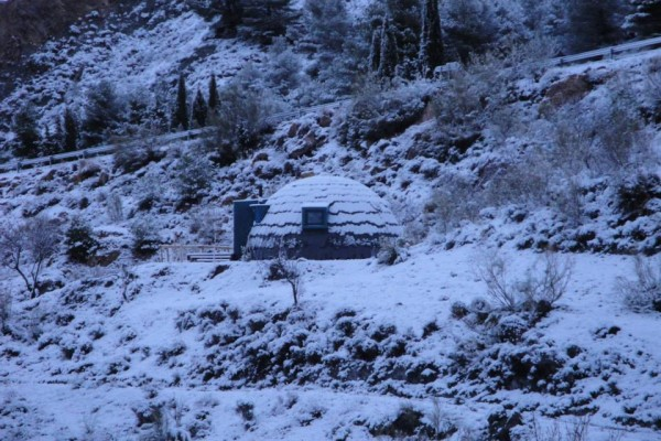 Cabañas de madera en Xilacurve 1896