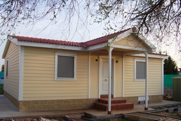 Casas de madera en ABS 4917