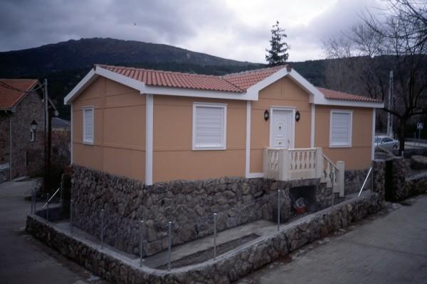 Casas de madera en ABS 4918