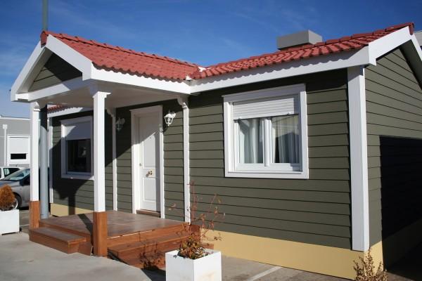 Casas de madera en ABS 4921