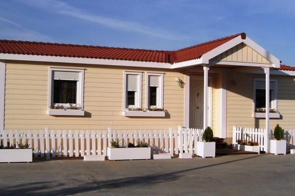 Casas de madera en ABS 4903