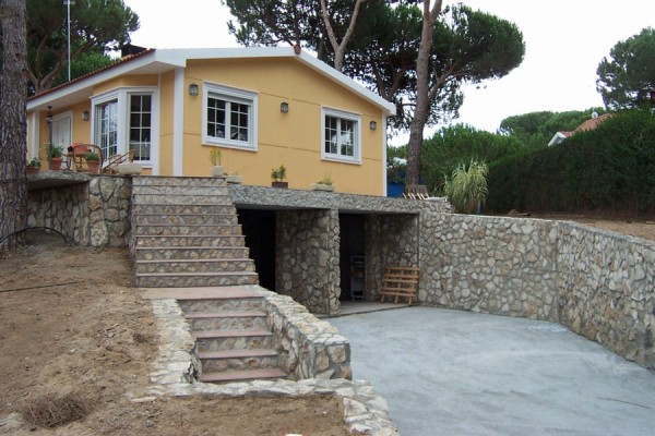 Casas de madera en ABS 4905