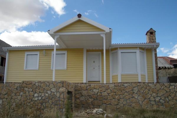 Casas de madera en ABS 4906