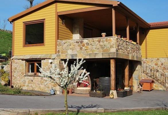 Casas de madera en ABS 4978