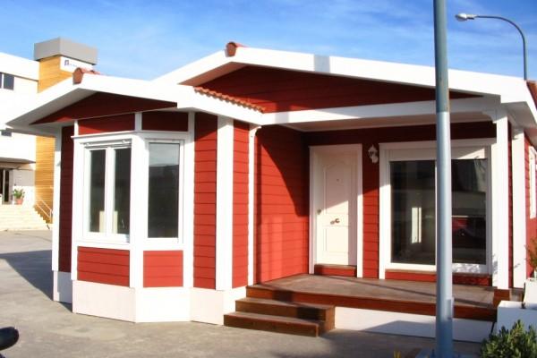 Casas de madera en ABS 4908