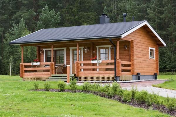 Casas de madera en am chalets viviendu - Propiedades de la madera ...