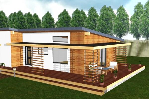 Casas de madera en AM Chalets 228