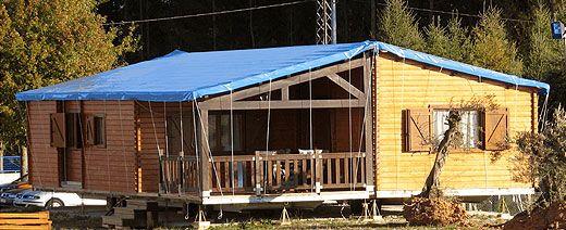 Casas de madera en ANBLA 246