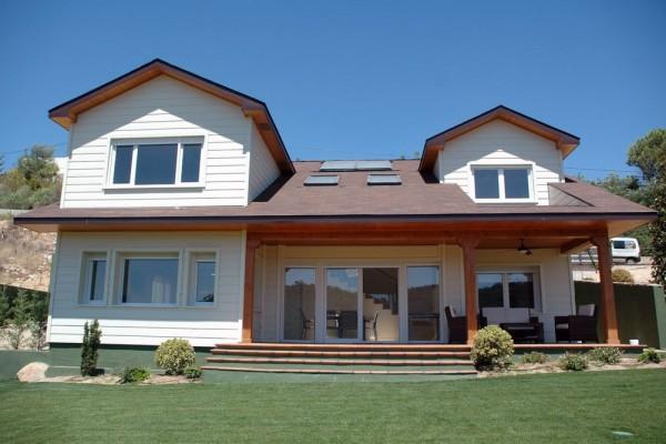 Casas de madera en canexel viviendu - Casas de madera canadiense ...