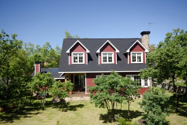 Casas de madera en Canexel 350