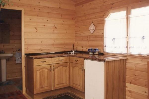 Casas de madera en Las Cabañas 564