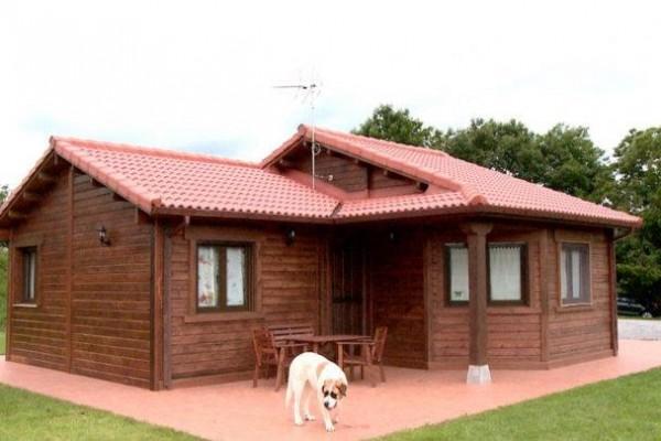 Casas de madera en Las Cabañas 566