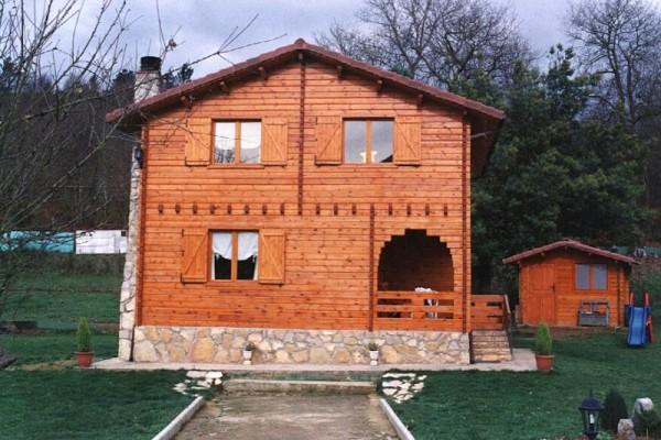 Casas de madera en Las Cabañas 567