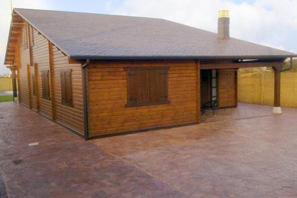Casas de madera en Las Cabañas 569