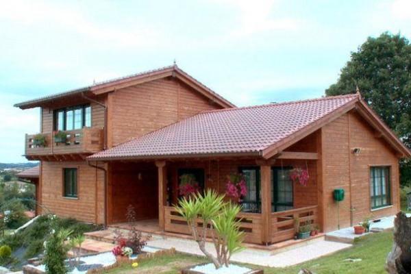 Casas de madera en Las Cabañas 571