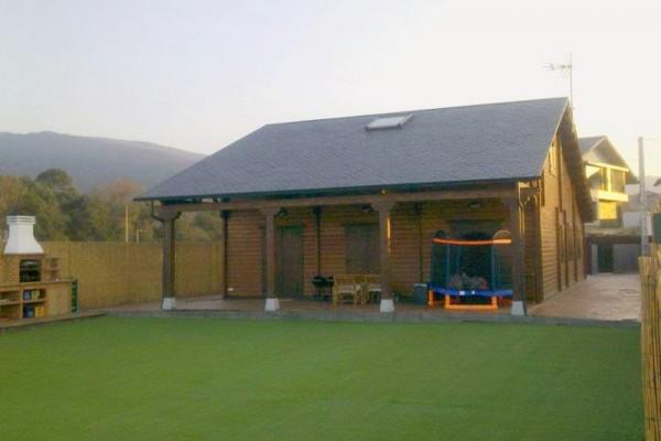Casas de madera en Las Cabañas 572