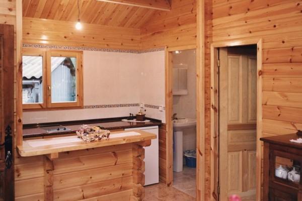 Casas de madera en Las Cabañas 574