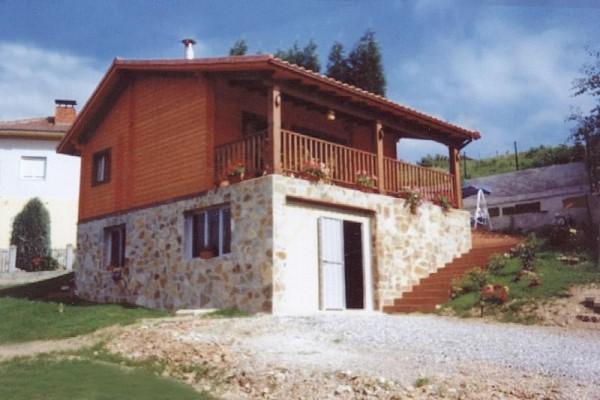 Casas de madera en Las Cabañas 561