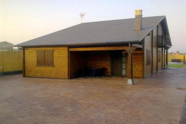 Casas de madera en Las Cabañas 563